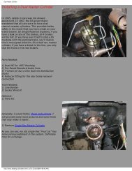 Dual Master Cylinder.pdf - Ford Mustang