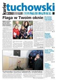 Numer 4 (7) KWIECIEŃ 2013 - Dom Kultury w Tuchowie - Tuchów