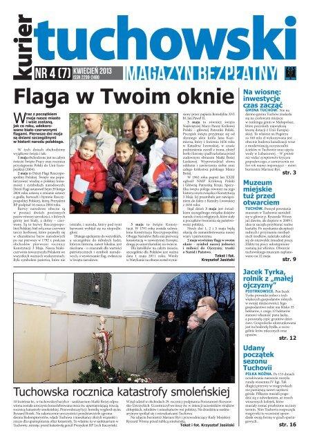 Numer 4 7 Kwiecień 2013 Dom Kultury W Tuchowie Tuchów