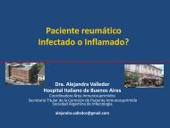 ¿Paciente reumático infectado o inflamado?