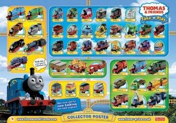 www.thomasandfriends.com www.fisher-price.co.uk - Toys R Us