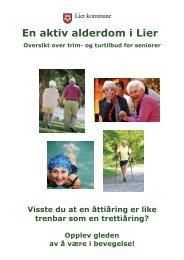 En aktiv alderdom i Lier - Lier kommune