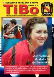 TiBo - Tischtennis Bezirk Heidelberg
