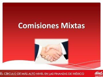 Comisiones Mixtas - IMEF