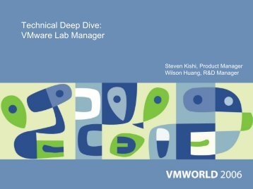 Technical Deep Dive: VMware Lab Manager