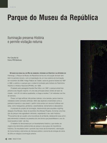 Parque do Museu da República - Lume Arquitetura