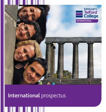 International Prospectus - Edinburgh's Telford College