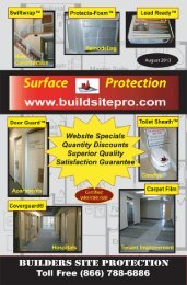 Download Our Catalog - Builders Site Protection