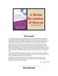 A Divine Revelation of Heaven - InsightsofGod