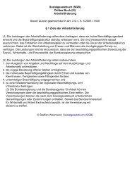 Sozialgesetzbuch (SGB) Drittes Buch (III) Arbeitsförderung