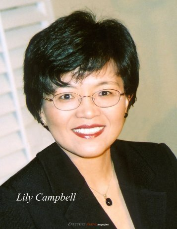 Lily Campbell - Executive Agent Magazine