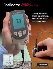 Coating Thickness Gages for measuring on Concrete ... - ThomasNet