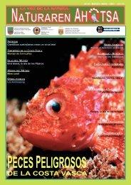 Naturaren Ahotsa: Peces peligrosos de la Costa Vasca