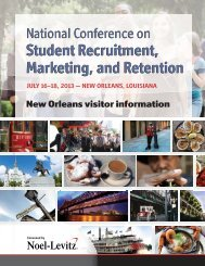 Download the New Orleans travel guide - Noel-Levitz