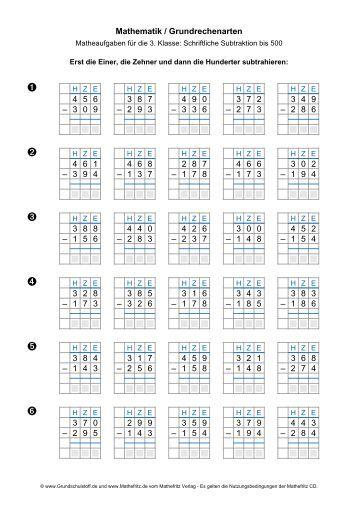 mathematik grundrechenarten multiplizieren bis 1000