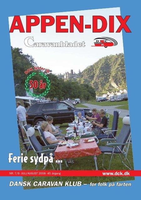 Ferie sydpå … - Dansk Caravan Klub