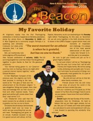 2010 November Beacon Newsletter -- News ... - FBC Alexandria