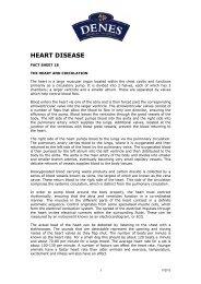 HEART DISEASE - Denes Natural Pet Care