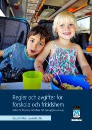 FÖRSKOLA OCH FRITIDSHEM I VÄSTERÅS - Västerås stad