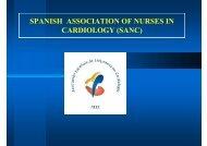 SPANISH ASSOCIATION OF NURSES IN CARDIOLOGY (SANC)