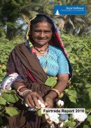 Fairtrade Report 2010 - Royal Holloway, University of London
