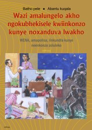 wazi amalungelo akho - Department of Public Service and ...