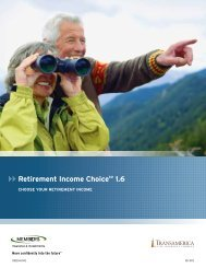 Retirement Income ChoiceSM 1.6 - CUNA Mutual Group