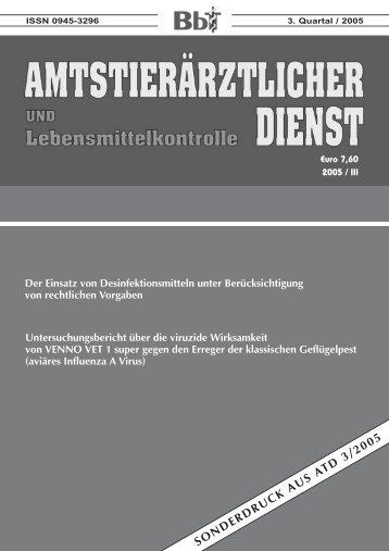 SONDERDRUCK AUS ATD 3/2005 - Menno.de
