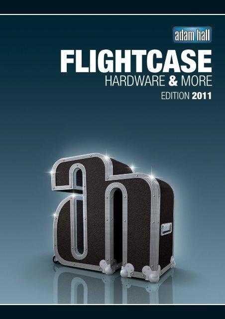 4x Kugelecke mittel mit integrierter L Ecke 47 mm Adam Hall Hardware 4127