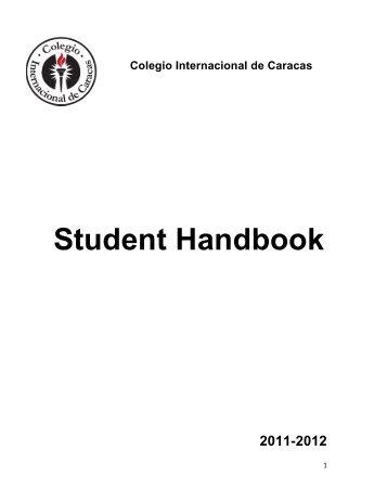 Student Handbook - Colegio Internacional de Caracas