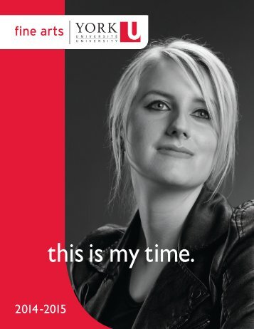 this is my time. - Future Students - York University