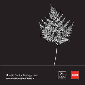 Human Capital Management - CIPD