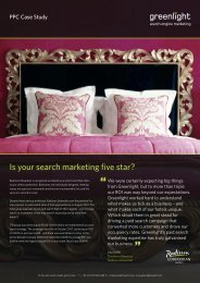 Download the search marketing case study - Digital Training Academy