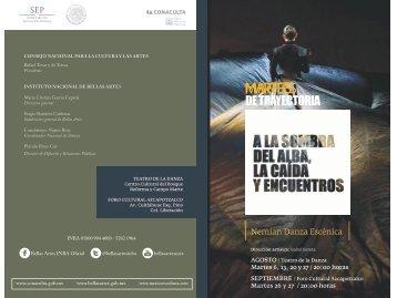 MARTES - Coordinacion Nacional de Danza - Instituto Nacional de ...