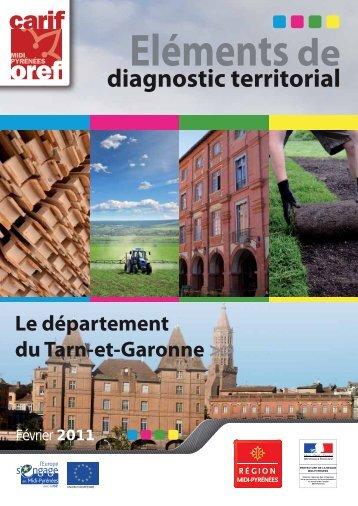 Tarn-et-Garonne - Carif Oref Midi-Pyrénée