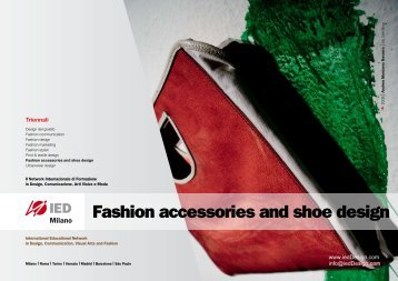 Fashion accessories and shoe design - IED - Fashion schools and ...