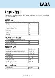 Laga Vägg - Finja