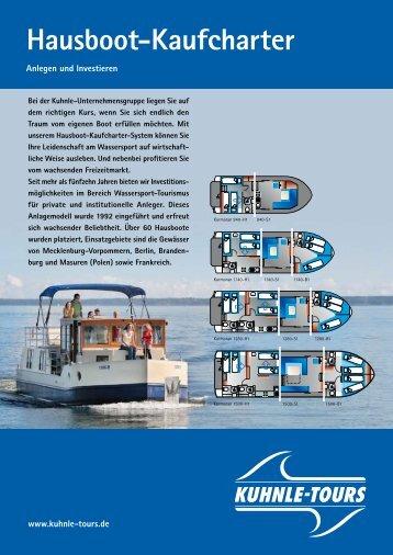 Hausboot-Kaufcharter