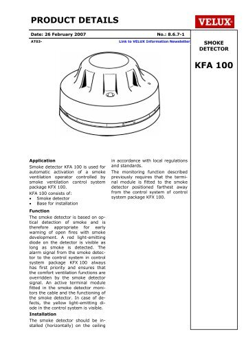 product details kfk 200 velux rh yumpu com velux smoke vent wiring diagram velux window motor wiring diagram