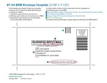 Qsg 507a business reply mail brm postal explorer usps business reply mail wajeb Images
