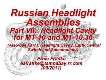 Snowplow assembly procedu russian headlight assemblies good karma productions sciox Images