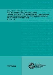 Ciencia, tecnología, cooperación tecnológica, TIC y rentabilidad de ...