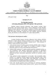 Atzinums - Vides pārraudzības valsts birojs