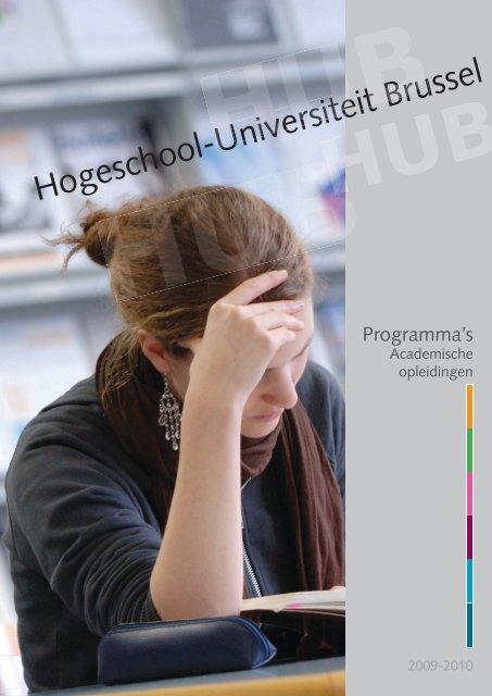 Hogeschool-Universiteit Brussel ol-Universiteit ... - HUBRUSSEL.net