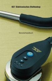 657 Elektronisches Stethoskop - American Diagnostic Corporation