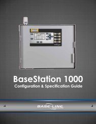 BaseStation 1000 Configuration Guide - Baseline Systems
