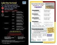 September 4-7, 2009 - ACBL District 9