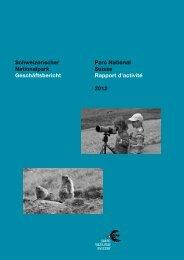 Geschäftsbericht 2012 - Schweizerischer Nationalpark