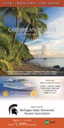 caribbean pearls caribbean pearls - MSU Alumni Association ...