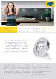 UNIVERSAL DESIGN / SPOT S20 - hella.shop.hu